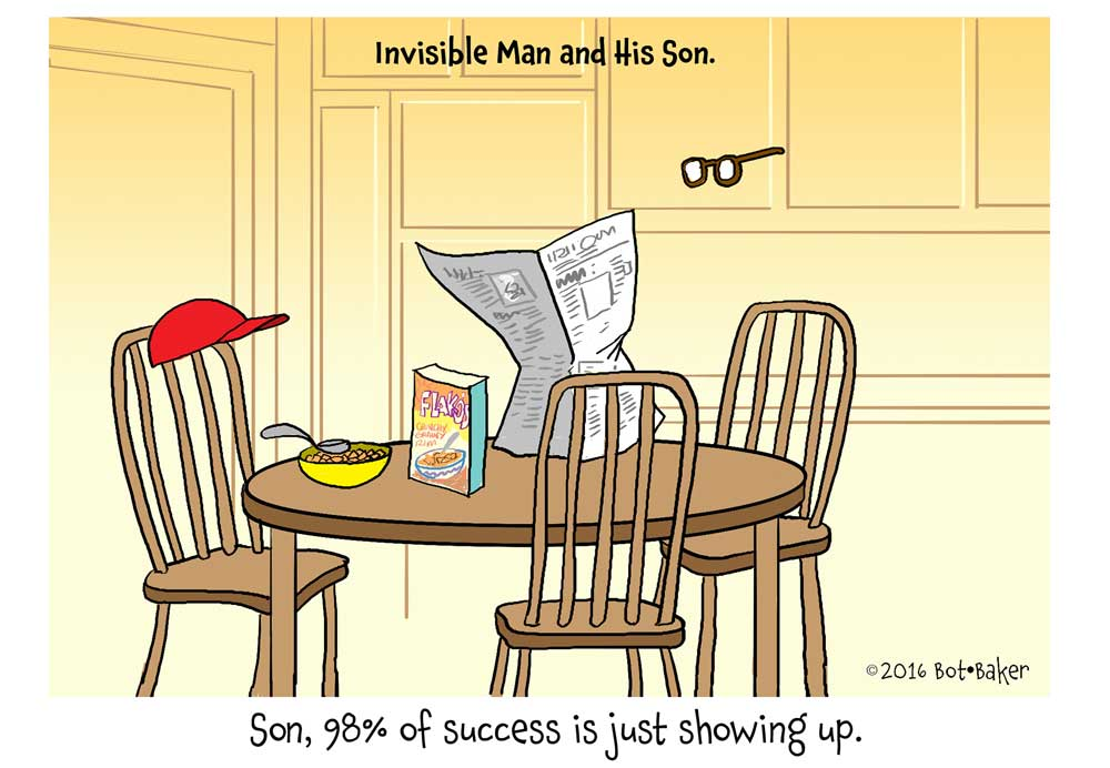 Invisible Man and Son